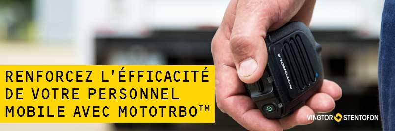 Two-Way Radio - MOTOTRBO - Description (French banner)