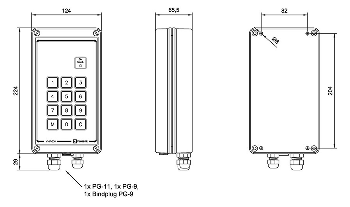 1020600305 dimensions_0 vmp 530 zenitel stentofon wiring diagrams at bakdesigns.co
