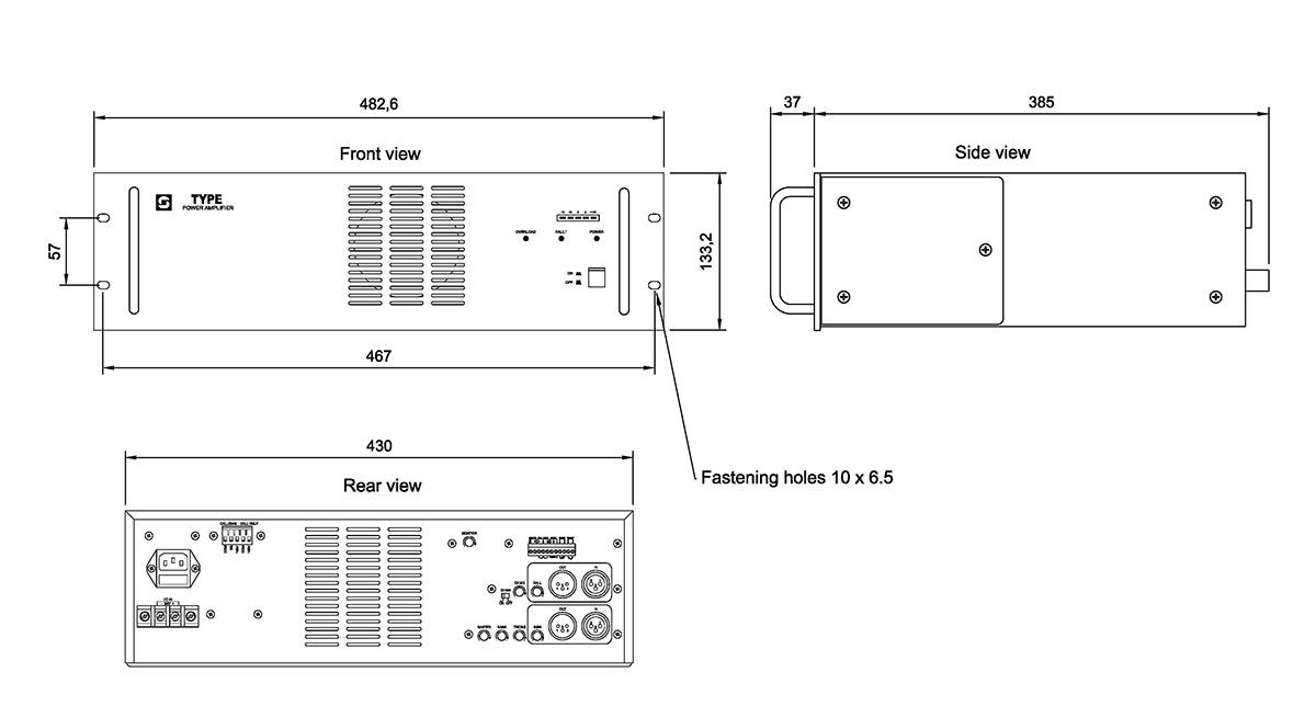 3005010235 dimensions_3 vpa 240 zenitel stentofon wiring diagrams at bakdesigns.co
