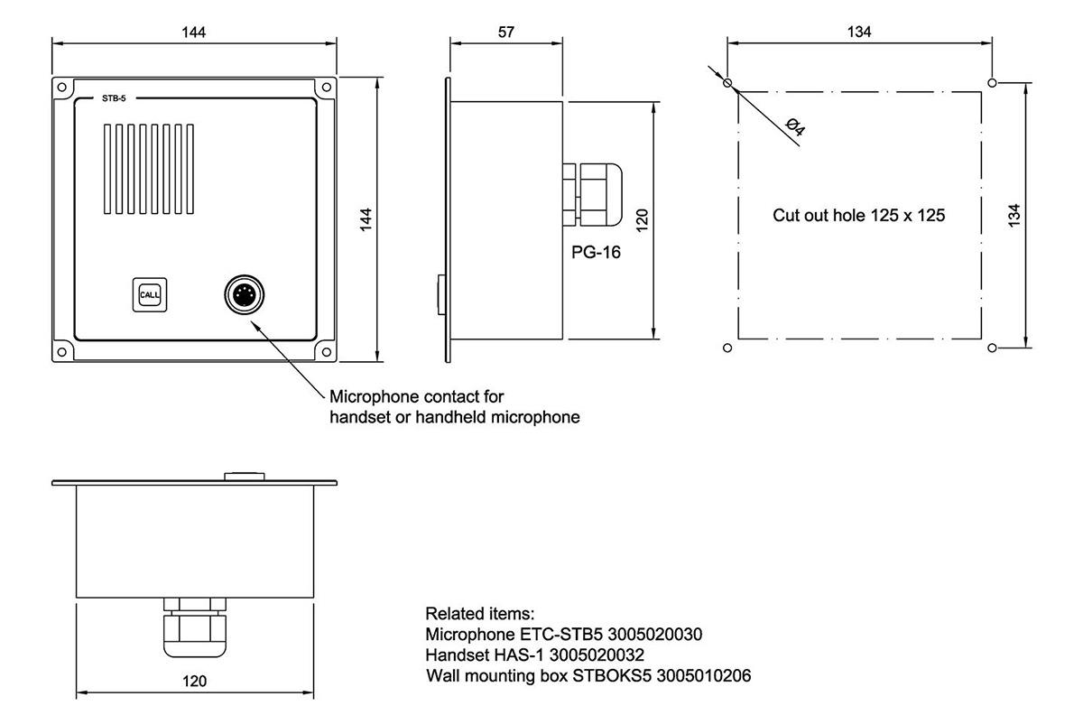 Batteryless Microphone Preamp Circuit Diagram Tradeoficcom Wiring Pre Amp Stb 5 Zenitel