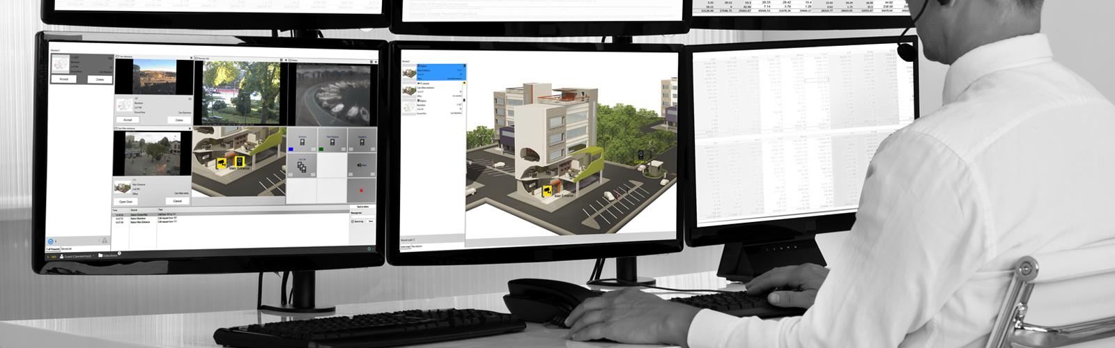 Alphaview Control Room solution for Alphacom