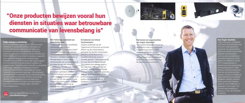 Kenneth Dastol Interviewed In Elbo Spot Zenitel