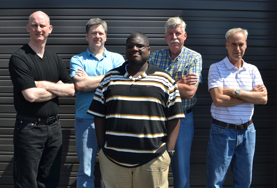 The Tech Five Our Engineering And Technical Team For