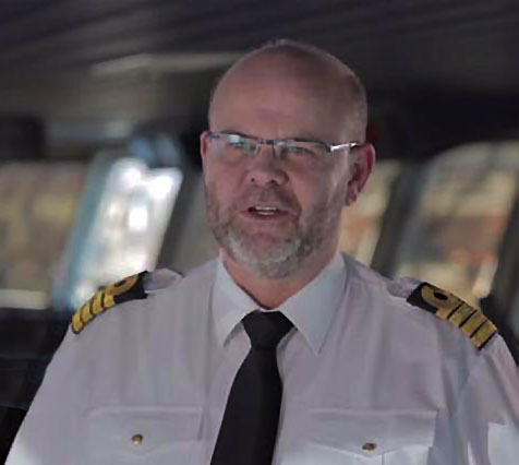 Flemming Langballe - DFDS Captain
