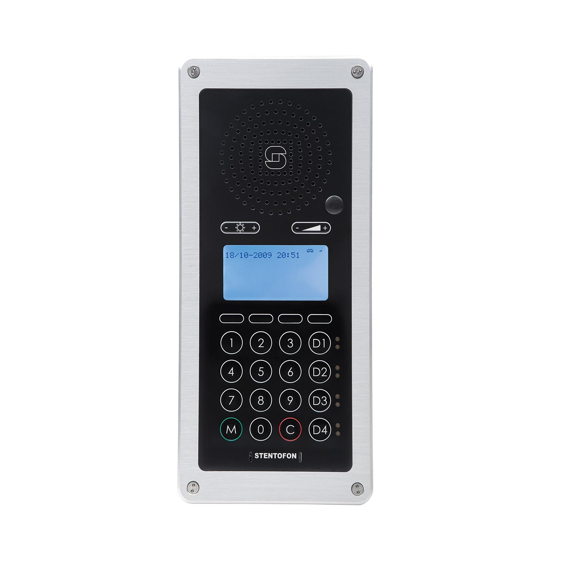 crm v sip and ip control room intercom rh zenitel com Stentofon Turbine Stentofon Pulse