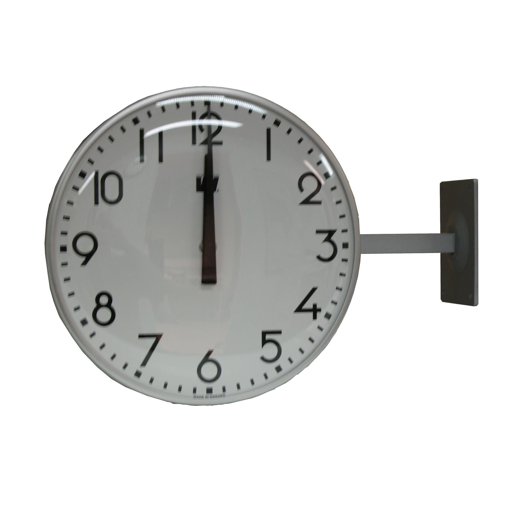 Double Faced Slave Clock