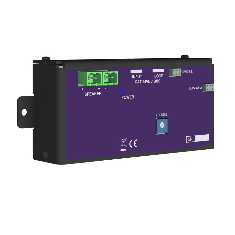 VSES-AMP-30 Digital EAS-bus class D amplifier