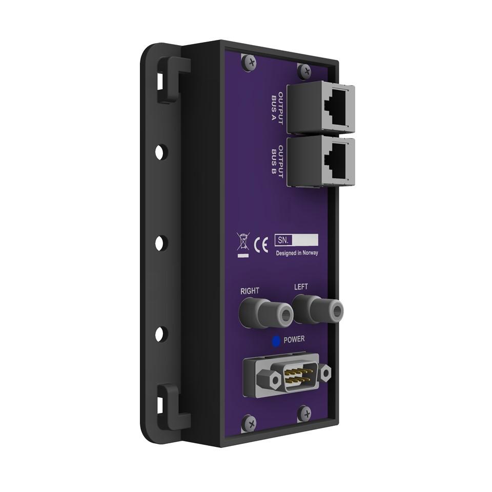 VSES-RX-11 Balanced to unbalanced audio converter