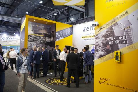 Zenitel enjoys another successful Nor-Shipping