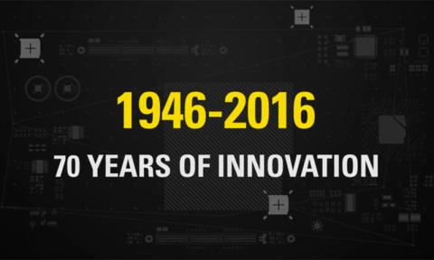 70yrs of innovation