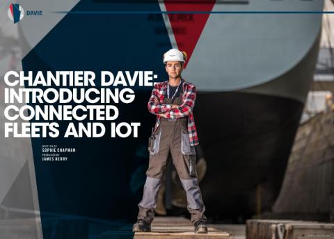 Zenitel preferred Intelligent Communication solutions supplier for Chantier Davie vessels