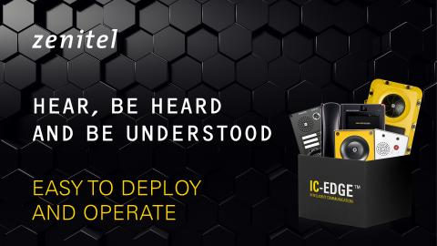 Zenitel IC-EDGE Easy to use and deploy
