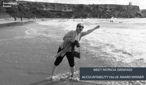Patricia Grinfass - Accountability Zenitel values award winner picture
