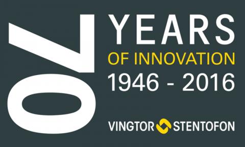 Vingtor-Stentofon 70 years anniversary