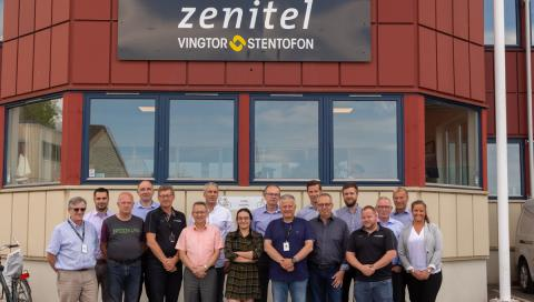 Zenitel Global maritime team