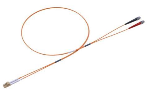 Duplex Fibre Patchcord Multimode 62,5/125 LC/ST