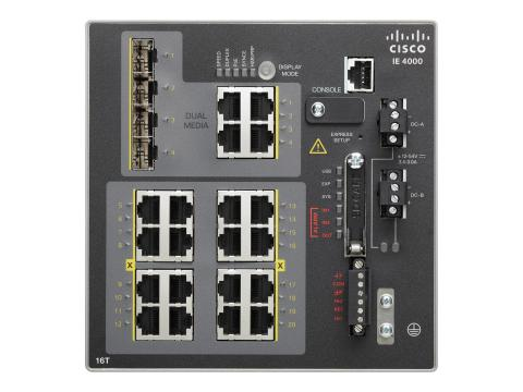 Cisco IE-4000-16T4G-E MARINE APPROVED ACCESS SWITCH