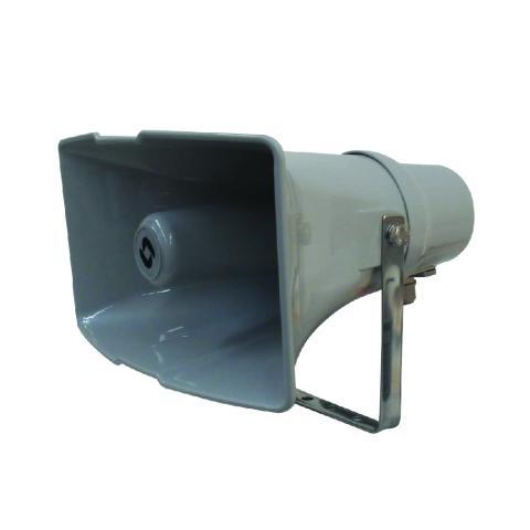 Horn loudspeaker 30W 100V with fuse
