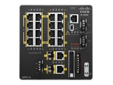 Cisco IE-2000-16TC-G-E MARINE APPROVED ACCESS SWITCH