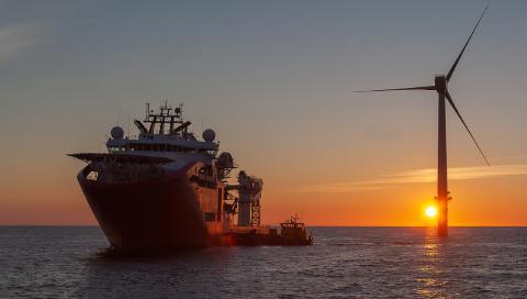 SOV vessel north sea offshore
