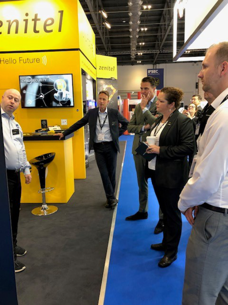 Zenitel delivering Intelligent Communication at the edge at IFSEC 2019