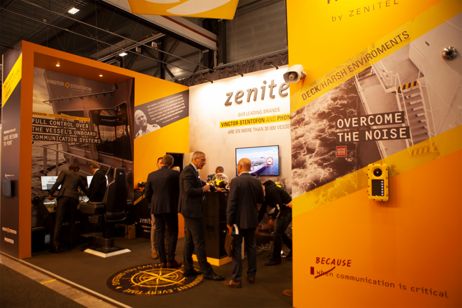 Zenitel at Nor-Shipping 2019