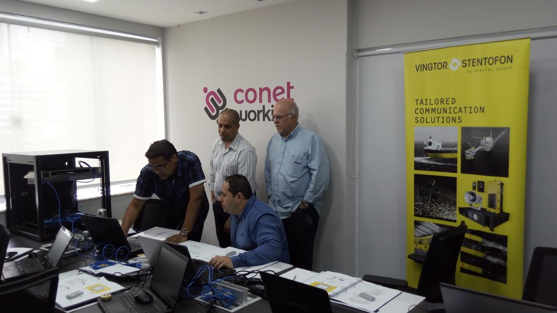AlphaCom Technical Training in Brazil