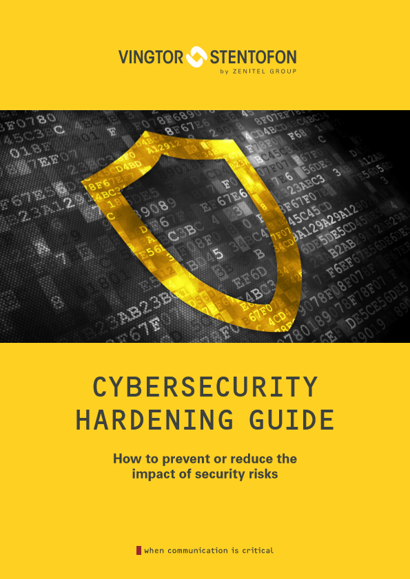 Zenitel Cybersecurity Hardening Guide -  picture