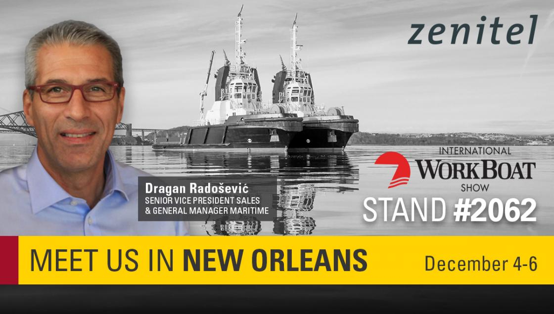 Zenitel Maritime at Workboat 2019