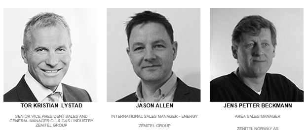 SPE Offshore Europe Zenitel team - picture