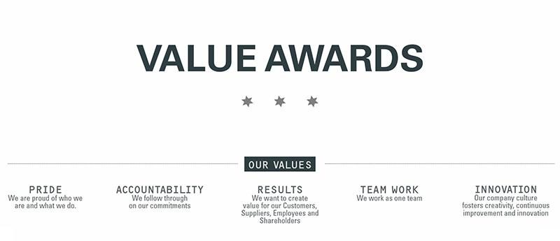 Value Awards - picture