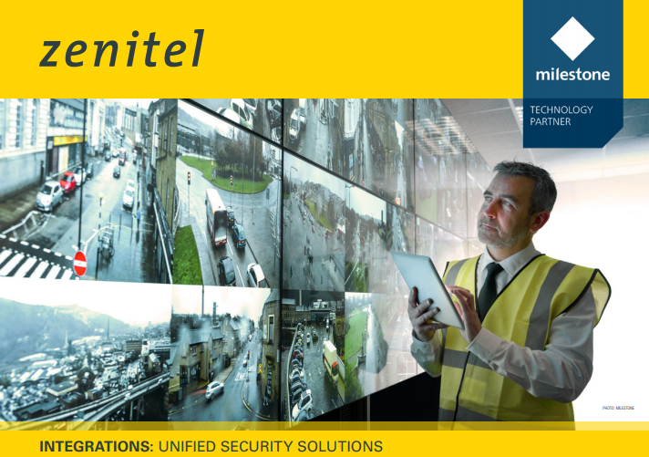 Zenitel integration with XProtect video management software