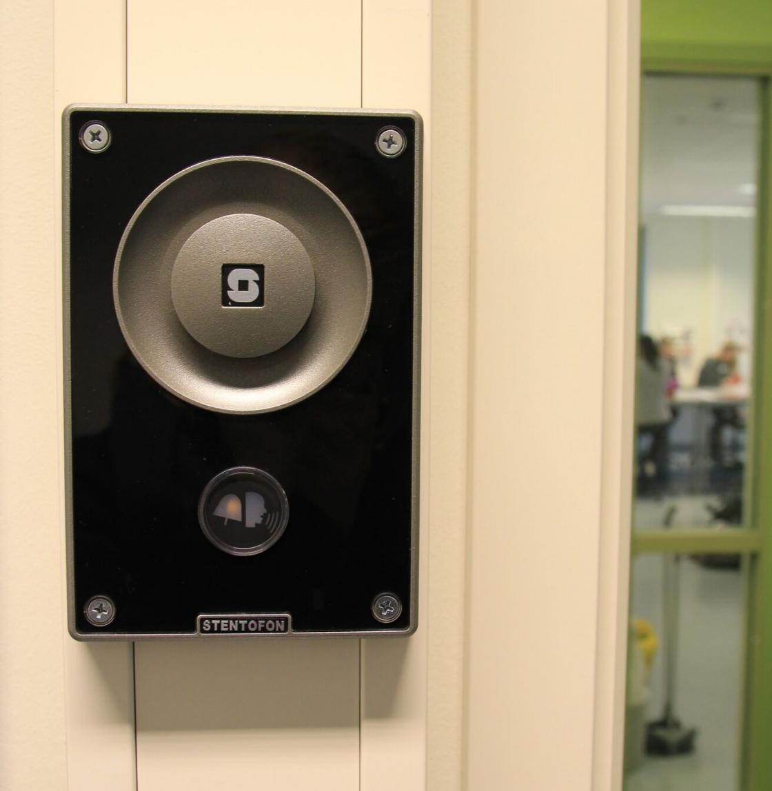 School Safety; Zenitel Intercom station at a school in Oslo