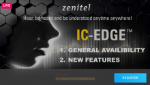 Zenitel IC-EDGE intelligent audio