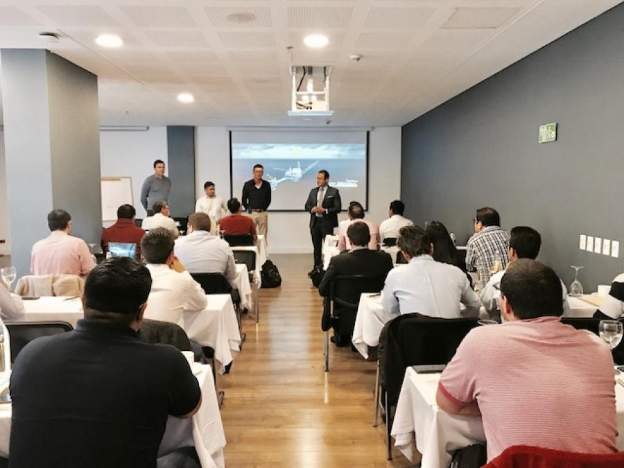 Zenitel training in Bogota, Colombia - picture