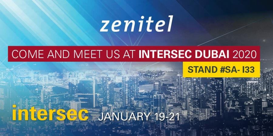 Zenitel IC-EDGE at Intersec Dubai 2020