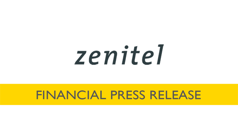 Zenitel Financial Press Release banner