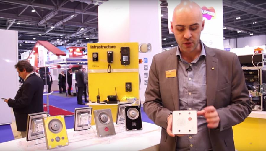 Turbine Mini TMIS-1 introduced during IFSEC 2015